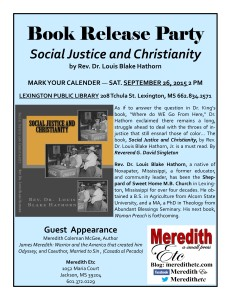 Social Justice and Christianity promo 2